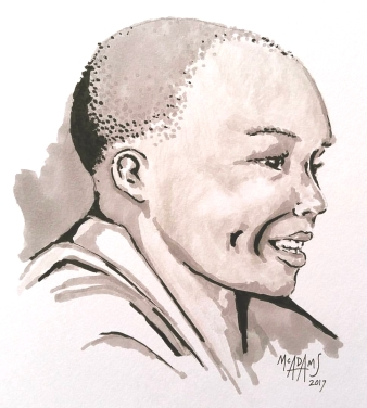 Uganda sketch